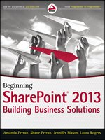 Click here to view eBook details for Beginning SharePoint 2013 by Amanda Perran