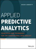 Click here to view eBook details for Applied Predictive Analytics by Dean Abbott