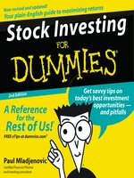Stock Investing for Dummies®