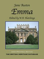 Emma - British Heritage Database Reader-Printable Edition with Study Materials