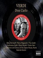 VERDI: Don Carlos (Christoff, Filippeschi, Gobbi)