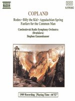 COPLAND: Appalachian Spring / Rodeo / Billy the Kid