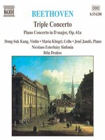 BEETHOVEN: Triple Concerto, Op 56 / Piano Concerto in D Major, Op 61a