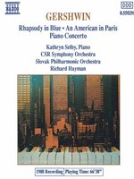 GERSHWIN: Rhapsody in Blue / Piano Concerto