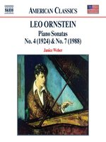 ORNSTEIN: Piano Sonatas Nos 4 and 7