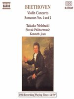 BEETHOVEN: Violin Concerto / Romances Nos 1 and 2