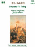 SUK / DVORAK: Serenades for Strings