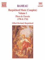 RAMEAU: Harpsichord Music, Vol  1
