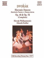 DVORAK: Slavonic Dances, Opp 46 and 72