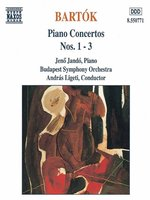 BARTOK: Piano Concertos Nos 1, 2 and 3