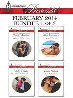 Harlequin Presents February 2014 - Bundle 1 of 2: A Bargain with the Enemy\When Falcone's World Stops Turning\A Secret Until Now\A Debt Paid in Passion