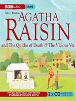 Agatha Raisin and the Quiche of Death & Agatha Raisin and the Vicious Vet