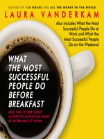 Click here to view Audiobook details for What the Most Successful People Do Before Breakfast by Laura Vanderkam