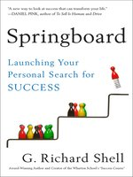 Click here to view Audiobook details for Springboard by G. Richard Shell