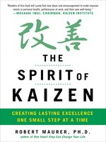 Click here to view Audiobook details for The Spirit of Kaizen by Bob Maurer