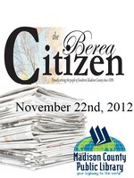 The Berea Citizen 2012 11/22