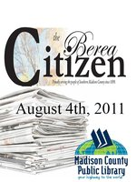 The Berea Citizen 2011 08/04