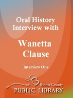 Oral History Interview with Wanetta Clause