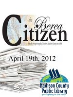 The Berea Citizen 2012 04/19