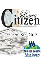 The Berea Citizen 2012 01/19