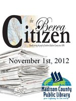 The Berea Citizen 2012 11/01