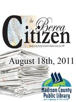 The Berea Citizen 2011 08/18