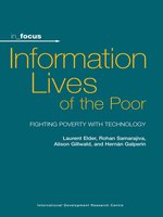 Click here to view eBook details for Information Lives of the Poor by Laurent Elder