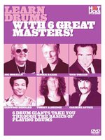 Learn Drums With 6 Great Masters!