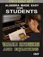 Variables, Expressions & Equations