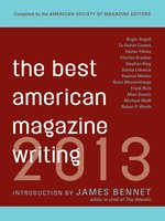 Best American Magazine Writing 2013