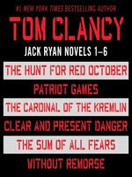 Jack Ryan, Books 1-6