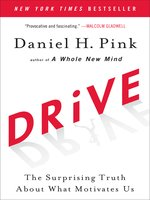 Click here to view eBook details for Drive by Daniel H. Pink