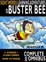 Complete Sight Words Learning Adventures of Buster Bee