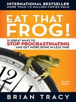 Click here to view eBook details for Eat That Frog! by Brian Tracy