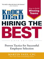 Click here to view eBook details for Knock 'em Dead--Hiring the Best by Martin Yate