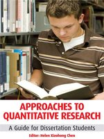 Approaches to Quantitative Research