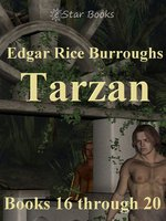 Tarzan books 16 through 20