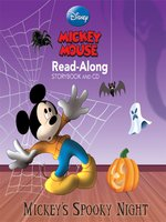 Mickey's Spooky Night Read-Along Storybook