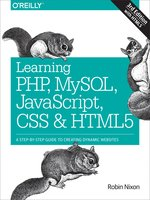Click here to view eBook details for Learning PHP, MySQL, JavaScript, CSS & HTML5 by Robin Nixon