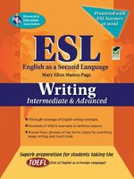 ESL Intermediate/Advanced Writing