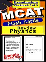 MCAT Test Physics—Exambusters Flashcards—Workbook 3 of 3