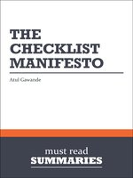 The Checklist Manifesto - Atul Gawande