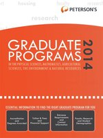 Graduate Programs in the Physical Sciences, Mathematics, Agricultural Sciences, the Environment & Natural Resources 2014 (Grad 4)