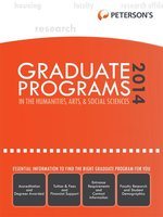 Graduate Programs in the Humanities, Arts & Social Sciences 2014 (Grad 2)