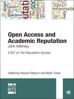 Open Access and Academic Reputation