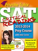 Private Tutor SAT Critical Reading 2013-2014 Prep Course