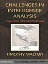 Challenges in Intelligence Analysis (eBook)