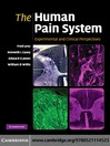 The Human Pain System (eBook): Experimental and Clinical Perspectives