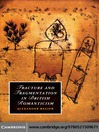 Fracture and Fragmentation in British Romanticism (eBook)
