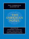 The Cambridge History of the American Novel (eBook)